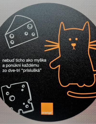 Podložka pod myš Orange