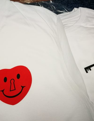 Potlač tričiek flex