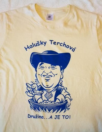 Sieťotlač tričko Terchová